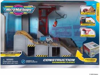 191726375593 Parc de Construction Micro Machine Avec Terrain Hors Route