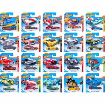 74299057854 Voiture Miniature Hot Wheels (fromboxC Blue) 1 64