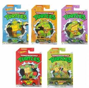 887961818147 Voiture Miniature Metal - TMNT- Tortues Ninja - Hot Wheels  1 64