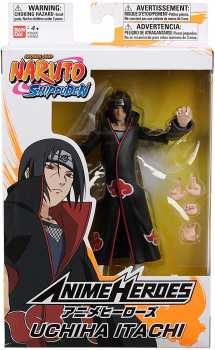 3296580369041 Figurine Naruto Uchiha Itachi 17cm ( Figurine Anime Heroes)