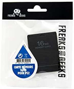 3760178629201 Carte Memoire 16 MB Pour PS2 (freaks And Geeks)