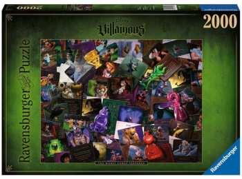 4005556165063 Puzzle 2000pcs Villainous All Vilains Disney