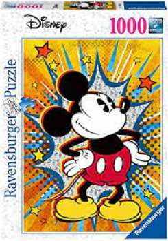 4005556153916 Puzzle 1000pcs Mickey Mouse Retro Disney