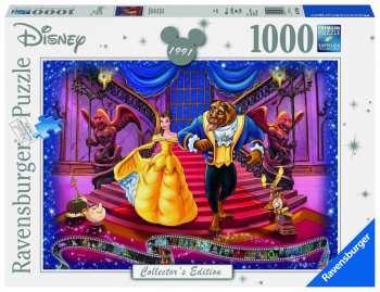 4005556197460 Puzzle 1000pcs La Belle Et La Bete Disney