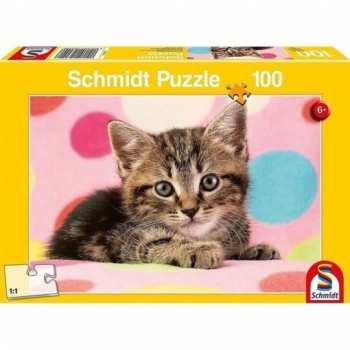 4001504562496 Puzzle Petits Chats Schmidt 100 Pieces
