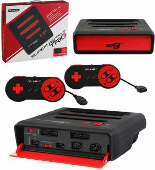 849172004528 Console Super Retro Tric 3 Retro Bit + 4 Jeux NES
