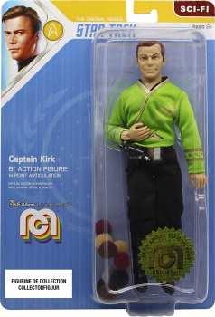 3181860629765 Mego Lansay Figurine Articulee Captain Kirk 20cm