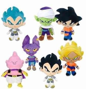 8425611397738 Peluche Dragon Ball Super  31 Cm ( Goku Ou Vegeta Ou Buu )