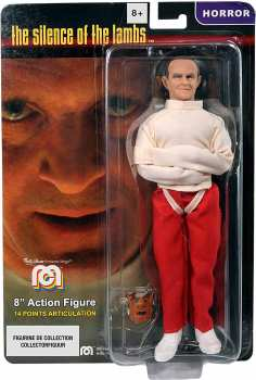 3181860627884 Mego Lansay Figurine Articulee Silence Des Agneaux Hannibal  20cm