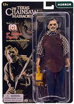 3181860627891 Mego Lansay Figurine Articulee Texas Chainsaw Massacre Leatherface 20cm