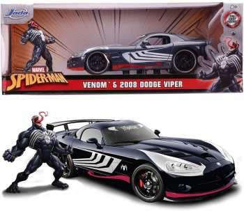 4006333070457 Voiture Marvel - Venom Dodge Viper - 1:24