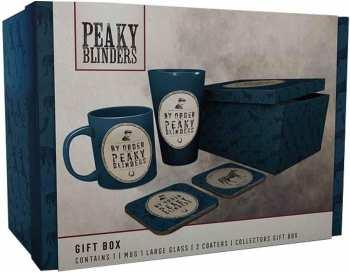 5028486480128 Peaky Blinders - Gift Box (mug/verre/sous-verres/boite Collector)