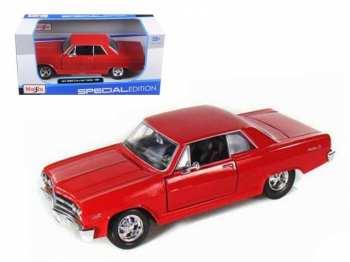 90159312581 Voiture Maisto - Chevrolet Malibu SS De 1965 1 24 - Edition Speciale