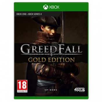 3512899123953 Greedfall Gold Edition (Boite Anglaise) FR Xbox One XSX