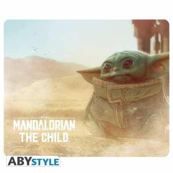 3665361044505 Tapis De Souris Star Wars Mandalorian The Child Baby Yoda