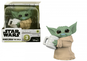 5010993882182 Petite Figurine Baby Yoda Star Wars The Bounty Collection Series 3