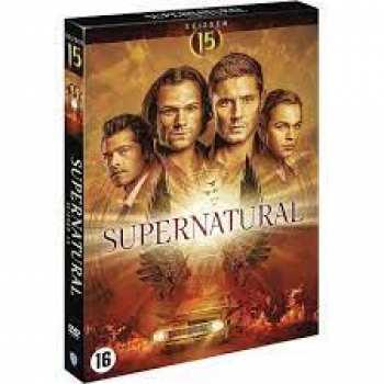 5510108532 Supernatural Saison 15 Dvd Fr/nl