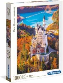 8005125393824 Puzzle 1000 Pieces Clementoni Chateau De Neuschwanstein