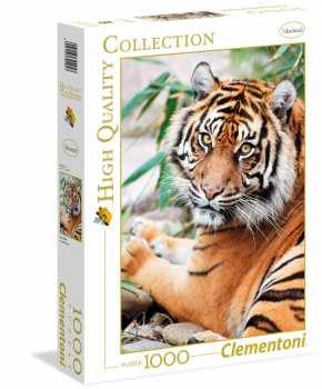 8005125392957 Puzzle 1000 Pieces Clementoni Tigre Sumatran
