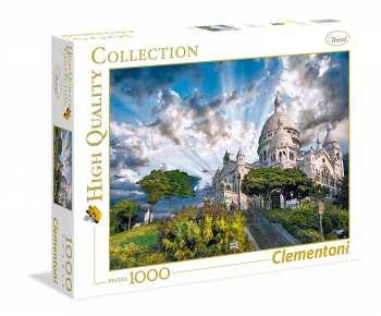 8005125393831 Puzzle 1000 Pieces Clementoni Monmartre  Paris