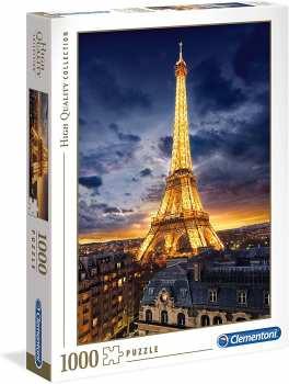 8005125395149 Puzzle 1000 Pieces Clementoni Tour Eiffel