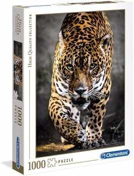 8005125393268 Puzzle 1000 Pieces Clementoni Jaguar Furtif