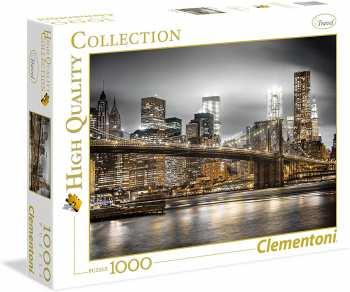 5510108547 Puzzle 1000 Pieces Clementoni New York Skyline
