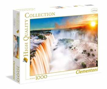 8005125393855 Puzzle 1000 Pieces Clementoni Waterfall