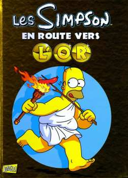 9782822201872 Les Simpson - En Route Vers L Or Jungle Bd