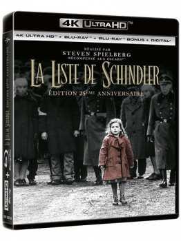 5053083183103 La Liste De Schindler Edition 25ieme Anniversaire (Liam Neeson) 4K BR