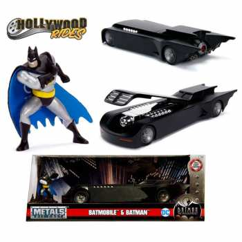 4006333064630 Vehicule Miniature Batman Batmobile Animated Serie Die cast Jada