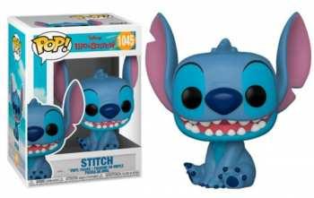 889698556170 Figurine Funko Pop - Lilo Et Stitch 1045 - Smiling Stitch Seated