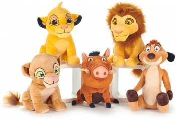 5038104711466 Peluche Le Roi Lion 30 Cm ( Pumba / Timon / Nala / Simba /etc)