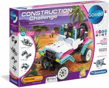 8005125591435 Construction Challenge Jeep Safari Park - Galileo Science Clementoni