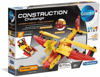 8005125591107 Construction Challenge Hydro Avion Galileo Science Clementoni
