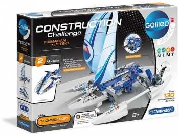 8005125591084 Construction Challenge Jet Sky / Bateau Galileo Science Clementoni