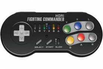 873124006650 Controller Sans Fil Fighting Commander Super Nintendo Classic