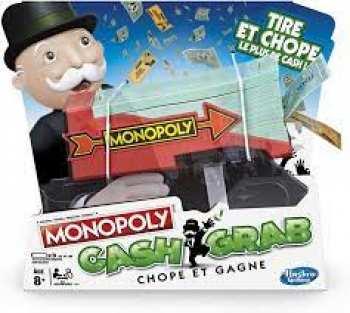 630509735952 Monopoly Cash Grab - Lanceur De Billets Jouets