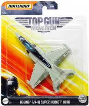5510108586 Vehicule Miniature - Top Gun - Maverick F18 Super Hornet Matchbox