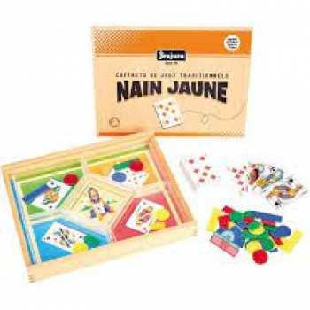 3225280813400 Coffret Jeux De Soviete Nain Jaune Jeux Traditionnels Made In France (en Bois )