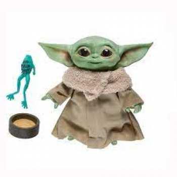 5010993761500 Figurine Parlante Baby Yoda The Child 19 Cm Mandalorian