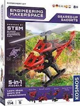 4002051665111 Kosmos Engineering Makerspace Helicopter 5 In 1