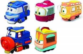 4891813801542 Vehicule Minature Robot  Trains + 3ans