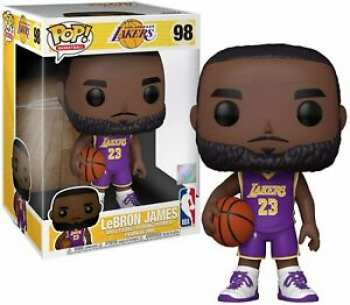 889698523592 Figurine Funko Pop 98 L A Lakers Lebron James (big size)
