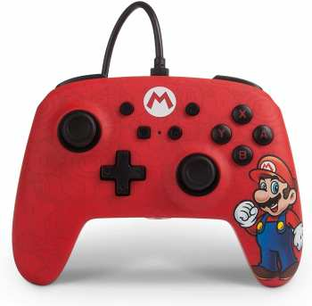 617885021800 Manette Filaire Nintendo Switch Super Mario Power