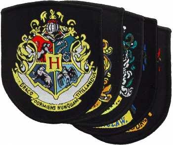 3760166566273 Lot De 5 Ecussons Harry Potter