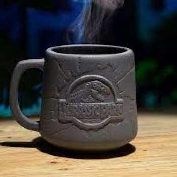 5055964769185 Mug Logo Jurassic Park 400ML