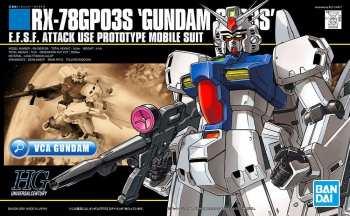 4573102609670 GUNDAM - HGUC 1/144 RX-78GP03S GUNDAM - MODEL KIT