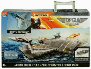 887961874655 nsemble De Jeux Matchbox Top Gun Mavrick Porte Avion