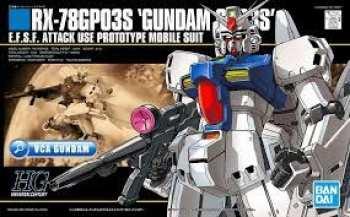 5510108707 GUNDAM - HGUC 1/144 RX-78GP03S GUNDAM - MODEL KIT